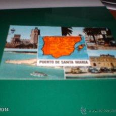 Postales: POSTAL DEL PUERTO DE SANTA MARÍA (CÁDIZ). AÑOS 70. Lote 40976871
