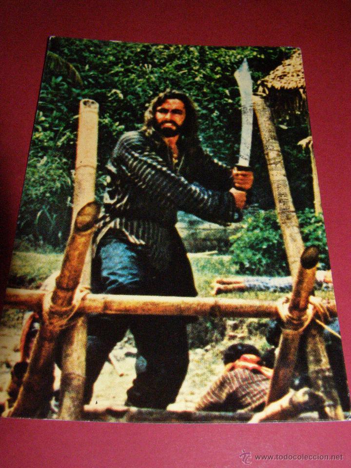 Postales: Bonito Lote 5 postales - Sandokan - Circuladas - - Foto 6 - 40998443