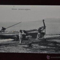 Postales: ANTIGUA POSTAL MÁLAGA. SACANDO EL COPO. LIBRERÍA Y PAPELERIA RIVAS. Lote 41002464
