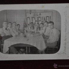 Postales: ANTIGUA TARGETA POSTAL DEL GRUPO LA CUCHIPANDA. Lote 41004129