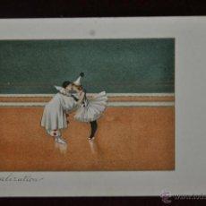 Postales: INTERESANTE POSTAL M.M.VIENNE (AUSTRIA) 1920. SIN CIRCULAR. TEMA CIRCENSE. CLOWS. Lote 41123537
