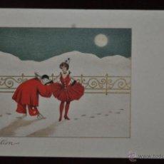 Postales: INTERESANTE POSTAL M.M.VIENNE (AUSTRIA) 1920. SIN CIRCULAR. TEMA CIRCENSE. CLOWS. Lote 41123544