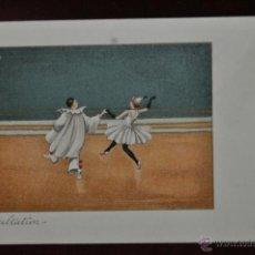 Postales: INTERESANTE POSTAL M.M.VIENNE (AUSTRIA) 1920. SIN CIRCULAR. TEMA CIRCENSE. CLOWS. Lote 41123559