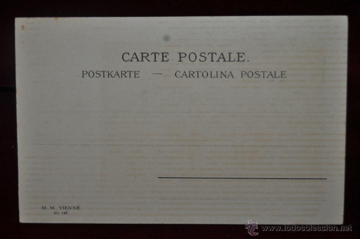 Postales: INTERESANTE POSTAL M.M.VIENNE (AUSTRIA) 1920. SIN CIRCULAR. TEMA CIRCENSE. CLOWS - Foto 2 - 41123564