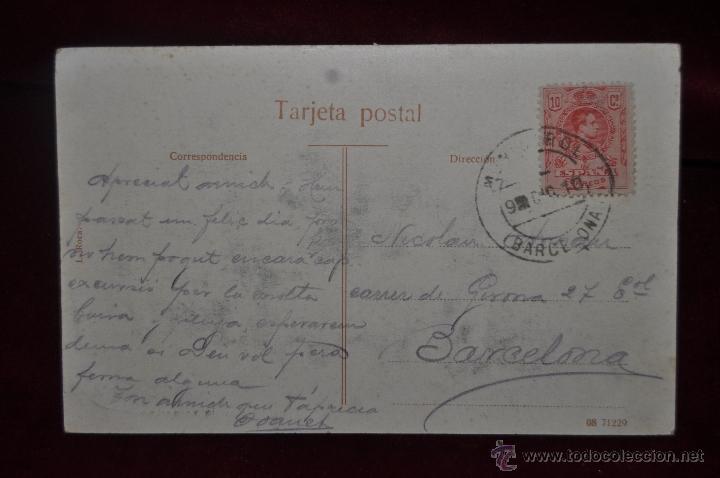 Postales: ANTIGUA POSTAL DE PRINCIPIOS DE SIGLO XX. ROSARIO VESPERTINO. CIRCULADA - Foto 2 - 41158637