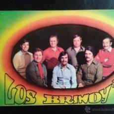 Postales: POSTAL DEL GRUPO MUSICAL LOS BRINDY´S. AÑOS 70. Lote 41264596