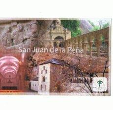 Postales: POSTAL SAN JUAN DE LA PEÑA - HUESCA SIN CIRCULAR. Lote 31643370