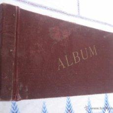Postales: ALBUM ANTIGUO PARA POSTALES Y FOTOGRAFIAS.. Lote 41687904