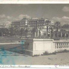 Postales: PS3686 COSTA DEL SOL 'ESTORIL - PARQUE Y PALACIO HOTEL'. CIRCULADA 1947. Lote 41946241