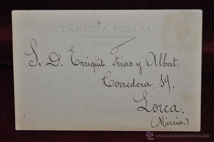 Postales: ANTIGUA POSTAL DE PRINCIPIOS DE SIGO XX. NOVIOS VALENCIANOS. A. CANOVAS. HAUSER Y MENET - Foto 2 - 42235425