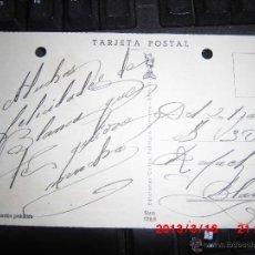 Postales: POSTAL MANUSCRITO BLANCA MAC MAHON RAFAEL REYES TORRENT. Lote 42312948
