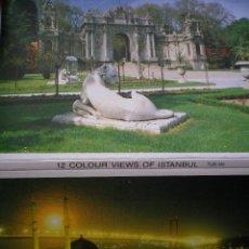 Postales: JUEGO DE 12 POSTALES DE TURQUÍA ESTAMBUL AÑOS 80. Lote 42554483