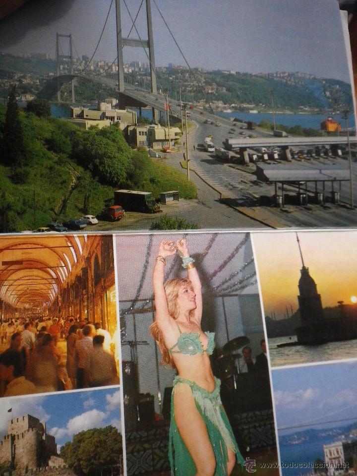 Postales: JUEGO DE 12 POSTALES DE TURQUÍA ESTAMBUL AÑOS 80 - Foto 2 - 42554483