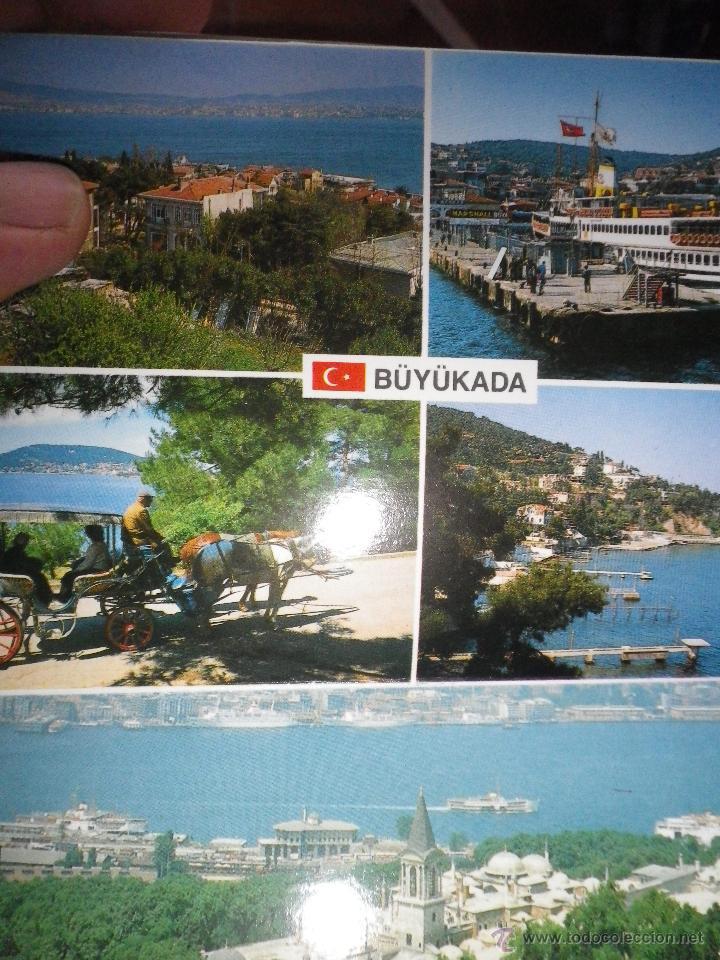 Postales: JUEGO DE 12 POSTALES DE TURQUÍA ESTAMBUL AÑOS 80 - Foto 3 - 42554483