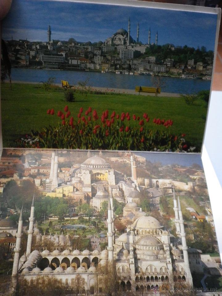 Postales: JUEGO DE 12 POSTALES DE TURQUÍA ESTAMBUL AÑOS 80 - Foto 5 - 42554483