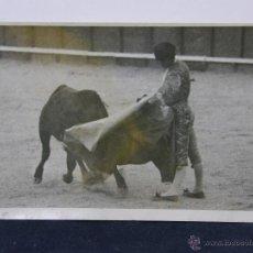 Postales: POSTAL TAURINA CORRIDA TOROS TORERO MONTOYA EN VISTA ALEGRE MADRID . Lote 43001382