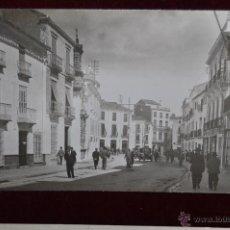 Postales: FOTO POSTAL DE PRINCIPIOS DE SIGLO XX. CALLE, GENTE PASEANDO. CIRCULADA. Lote 43005948