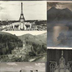 Postales: LOTE DE CINCO POSTALES ANTIGUAS EUROPEAS ALEMANIA,FRANCIA ,ITALIA. Lote 43773350