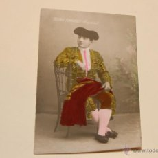Postales: POSTAL DE TORERO EUSEBIO FERNANDEZ (VAQUERITO) 1920. Lote 43937567