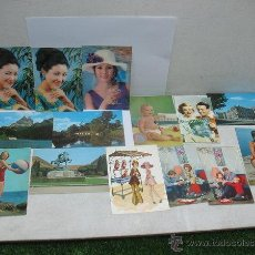 Postales: LOTE DE POSTALES VARIADAS ANTIGUAS. Lote 44067794