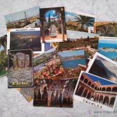Postales: LOTE DE 30 POSTALES TURÍSTICAS ESPAÑOLAS VARIADAS (SIN CIRCULAR). Lote 44238557