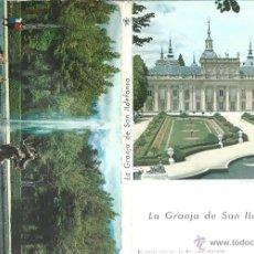Postales: POSTALES BLOC DE 10 TARJETAS DE LA GRANJA DE SAN ILDEFONSO. Lote 44271152