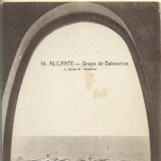 Postais: POSTAL ANTIGUA DEL ALICANTE GRUPO DE BALNEARIOS NUEVA FOTO L. ROSIN BARCELONA. Lote 44306038