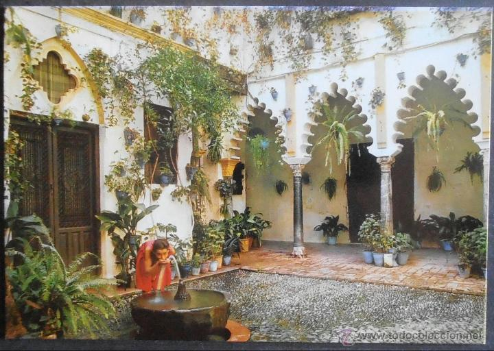 20952 postal escrita patio andaluz sevilla sev comprar - Fotos patio andaluz ...
