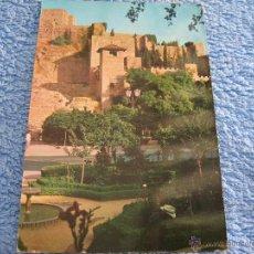 Cartes Postales: POSTAL ANTIGUA- MALAGA. LA ALCAZABA, DETALLE. EDICIONES RO. 335-1964. Lote 44770673