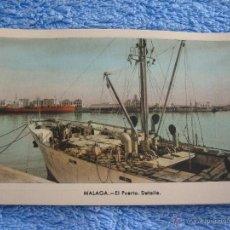 Cartes Postales: POSTAL ANTIGUA- MALAGA.EL PUERTO. DETALLE. ARRIBAS. NUM. 209. Lote 44790046