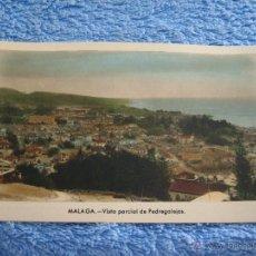 Cartes Postales: POSTAL ANTIGUA- MALAGA. VISTA PARCIAL DE PEDREGALEJOS. ARRIBAS. NUM. 208. Lote 44790660