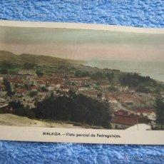 Cartes Postales: POSTAL ANTIGUA- MALAGA. VISTA PARCIAL DE PEDREGALEJOS. ARRIBAS. NUM. 208. Lote 44790662
