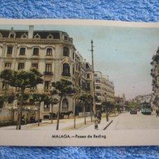 Cartes Postales: POSTAL ANTIGUA- MALAGA. PASEO DE REDING. ARRIBAS. NUM. 5. Lote 44790755