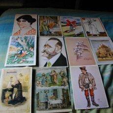 Postales: LOTE DE 19 POSTALES MUY BONITAS . Lote 44795874