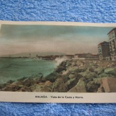 Cartes Postales: POSTAL ANTIGUA- MALAGA. VISTA DE LA COSTA Y MORRO. ARRIBAS. NUM. 207. Lote 44798468