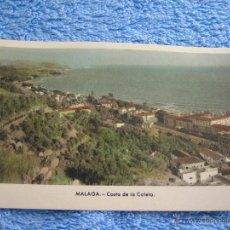 Cartes Postales: POSTAL ANTIGUA- MALAGA. COSTA DE LA CALETA. ARRIBAS. NUM. 204. Lote 44802569
