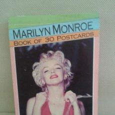 Postales: POSTALES DE MARILYN MONROE ,PARA COLECCIONISTAS.(OFERTA A MITAD DE PRECIO). Lote 45173353