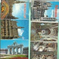 Postales: LOTE DE 6 BLOC 87 POSTALES DE CIUDADES EUROPEAS NUEVOS. Lote 46109251