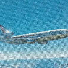 Postales: Nº 16443 POSTAL AVION WARDAIR CANADA 1975 MCDONNELL DOUGLAS DC-10-30. Lote 46161970