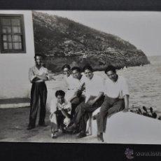 Postales: FOTO POSTAL DE LOS AÑOS 40-50. PERSONAJES. SIN CIRCULAR. Lote 46204463