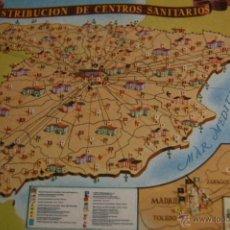 Postales: POSTAL PRESIDENCIA GOBIERNO INE. DISTRIB. CENTROS SANITARIOS. VALVERDE. SAN SEBASTIAN. Lote 46370434