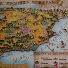 Postales: POSTAL PRESIDENCIA DEL GOBIERNO INE. LA RIQUEZA DE ESPAÑA. 1956. VALVERDE. SAN SEBASTIAN. Lote 46370518