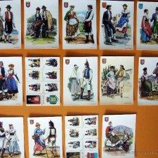 Postales: LOTE DE 14 POSTALES DE TRAJES TÍPICOS DE CANARIAS. Lote 46380898