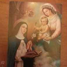 Postales: SANTA BEATRIZ DE SILVA FUNDADORA DE LA CONCEPCIONISTAS FRANCISCANAS, ESTAMPA RELGIOSA. Lote 131318535