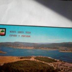 Postales: POSTAL MONTE SANTA TECLA ESPAÑA Y PORTUGAL LA GUARDIA. RIO MIÑO.. Lote 46545918