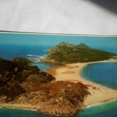 Postales: POSTAL ISLAS CIES RIA DE VIGO. VISTA AÉREA. Lote 46546146