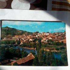 Postales: POSTAL SORIA PAISAJE DEL RIO DUERO. . Lote 46547356