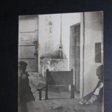 Postales: ANTIGUA FOTO POSTAL DE LOS AÑOS 50. PERSONAJES TIPICOS. SIN CIRCULAR. Lote 46887156
