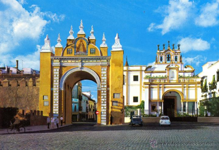 Sevilla arco de la macarena comprar postales de - Horario merkamueble sevilla ...