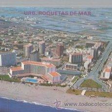 Postales: ALMERÍA, N. 2 URBANIZACIÓN ROQUETAS DE MAR, VISTA AÉREA, HNOS. GALIANA. Lote 47142600
